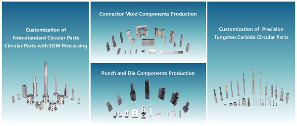 tungsten carbide mold parts wholeser